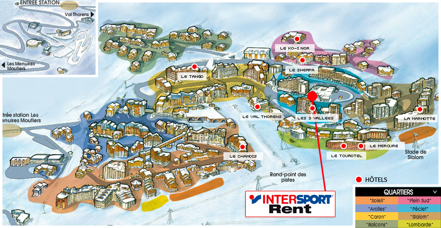 INTERSPORT SHOP Val Thorens Savoie